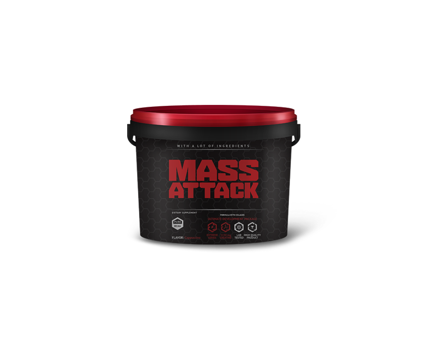 massattack-pucha TOP 10 – najlepsze białkowe suplementy na masę – ranking